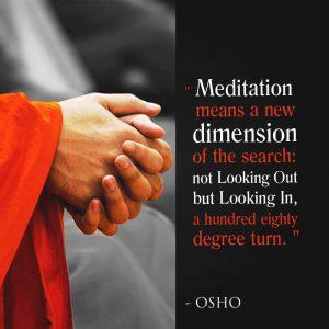 Meditatie Osho