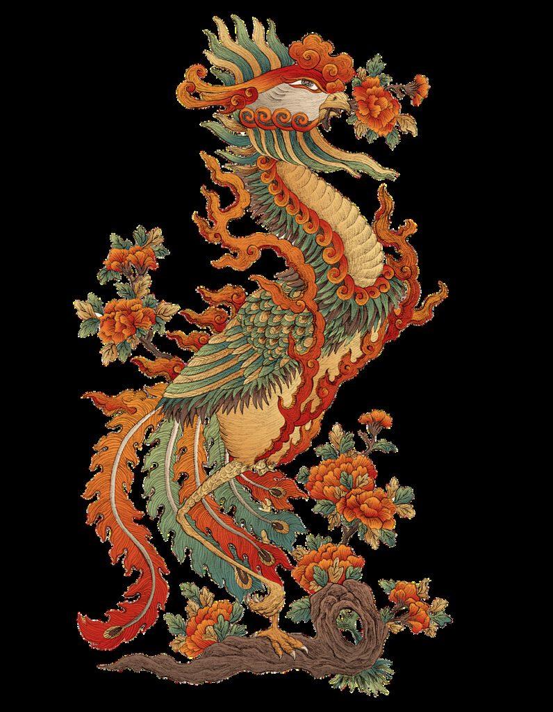 dragon phoenix, dragon, feng shui